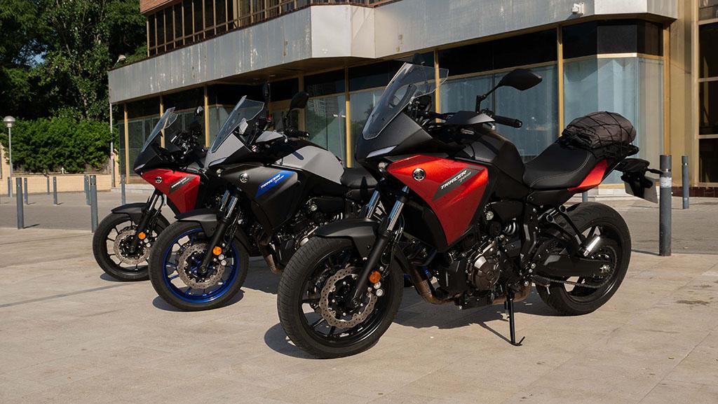 Yamaha tracer 700 reto